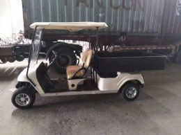 Golf Cart with basket